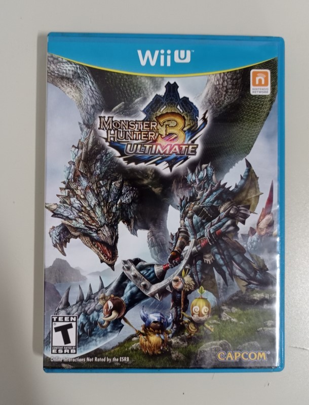 Monster Hunter 3 Ultimate - USADO - Nintendo Wii U
