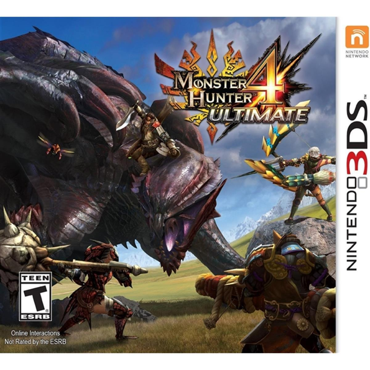 Monster Hunter 4 Ultimate - Nintendo 3DS USADO
