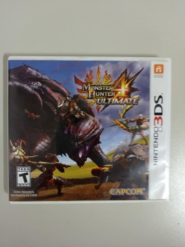 Monster Hunter 4 Ultimate - USADO - Nintendo 3DS