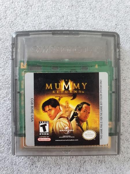 Mummy Returns - Cartucho - Game Boy Color - Usado