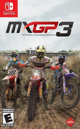 Mxgp 3: The Oficial Motocross Video Game - Nintendo Switch
