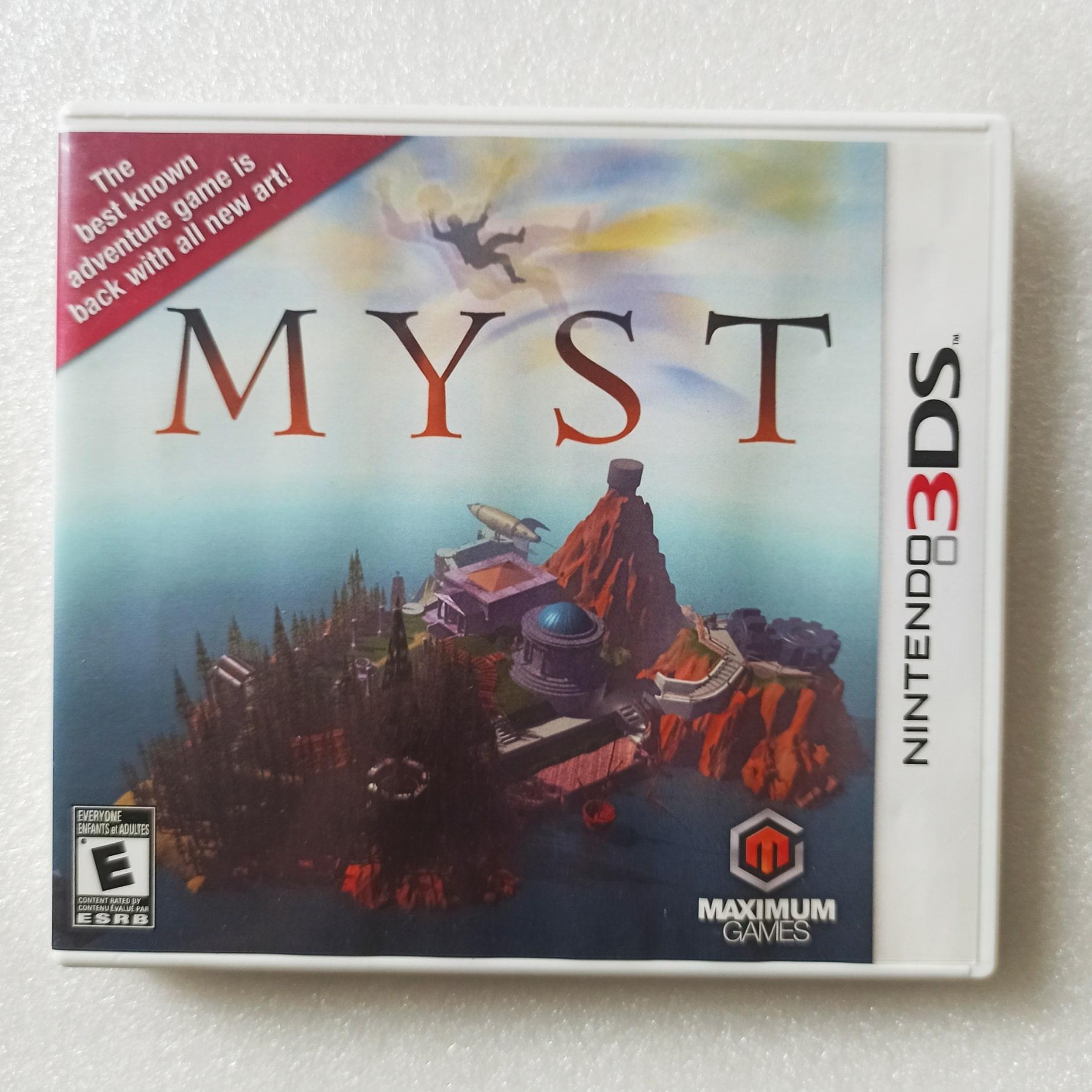 Myst - USADO - Nintendo 3DS