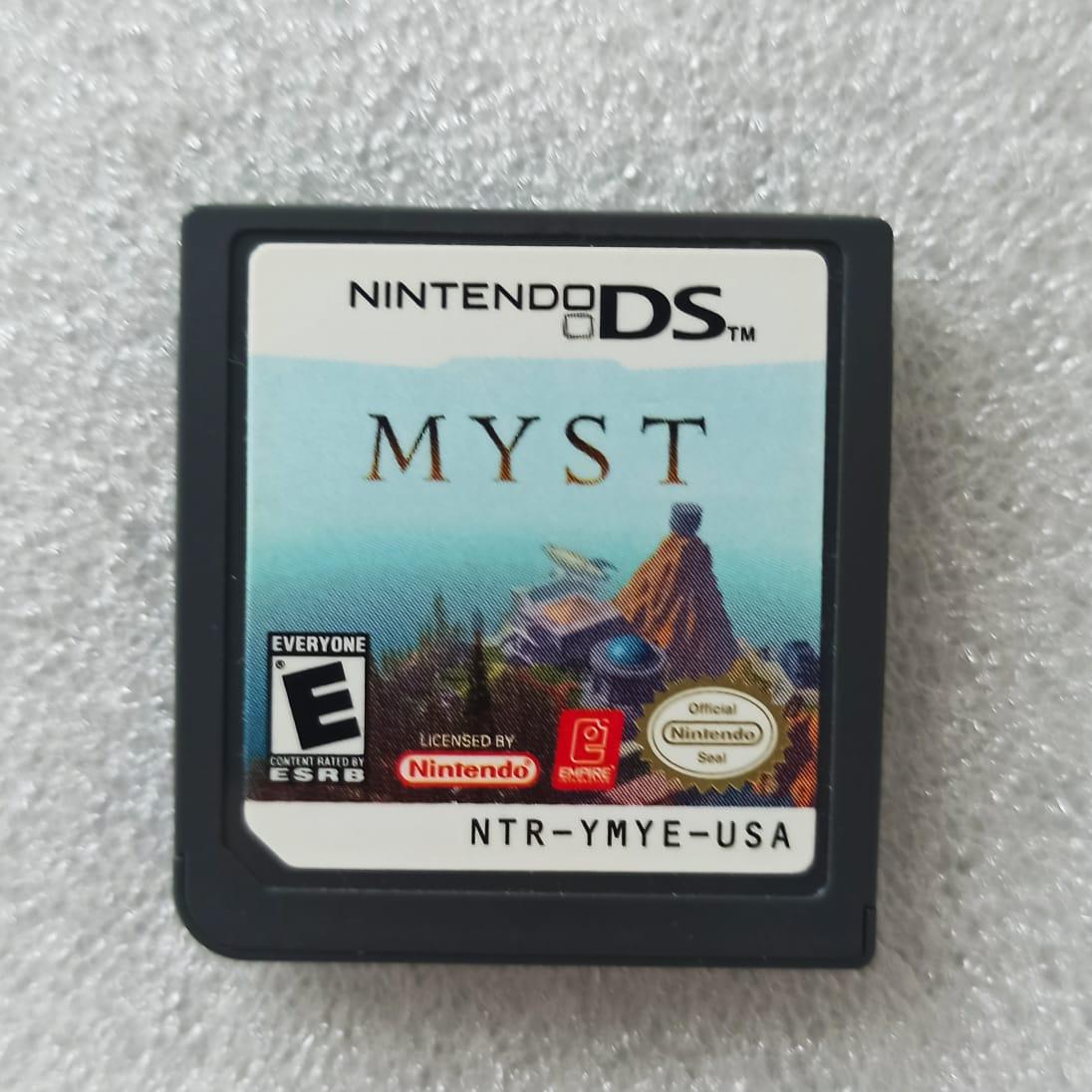 Myst - USADO - Nintendo DS