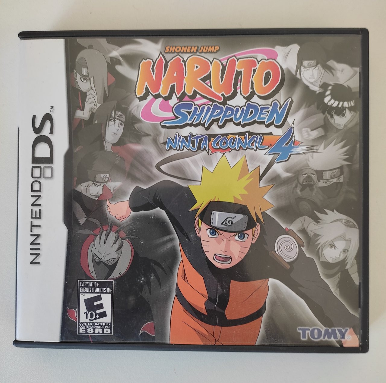 Naruto Shippuden Ninja Council 4 - Nintendo DS - Usado
