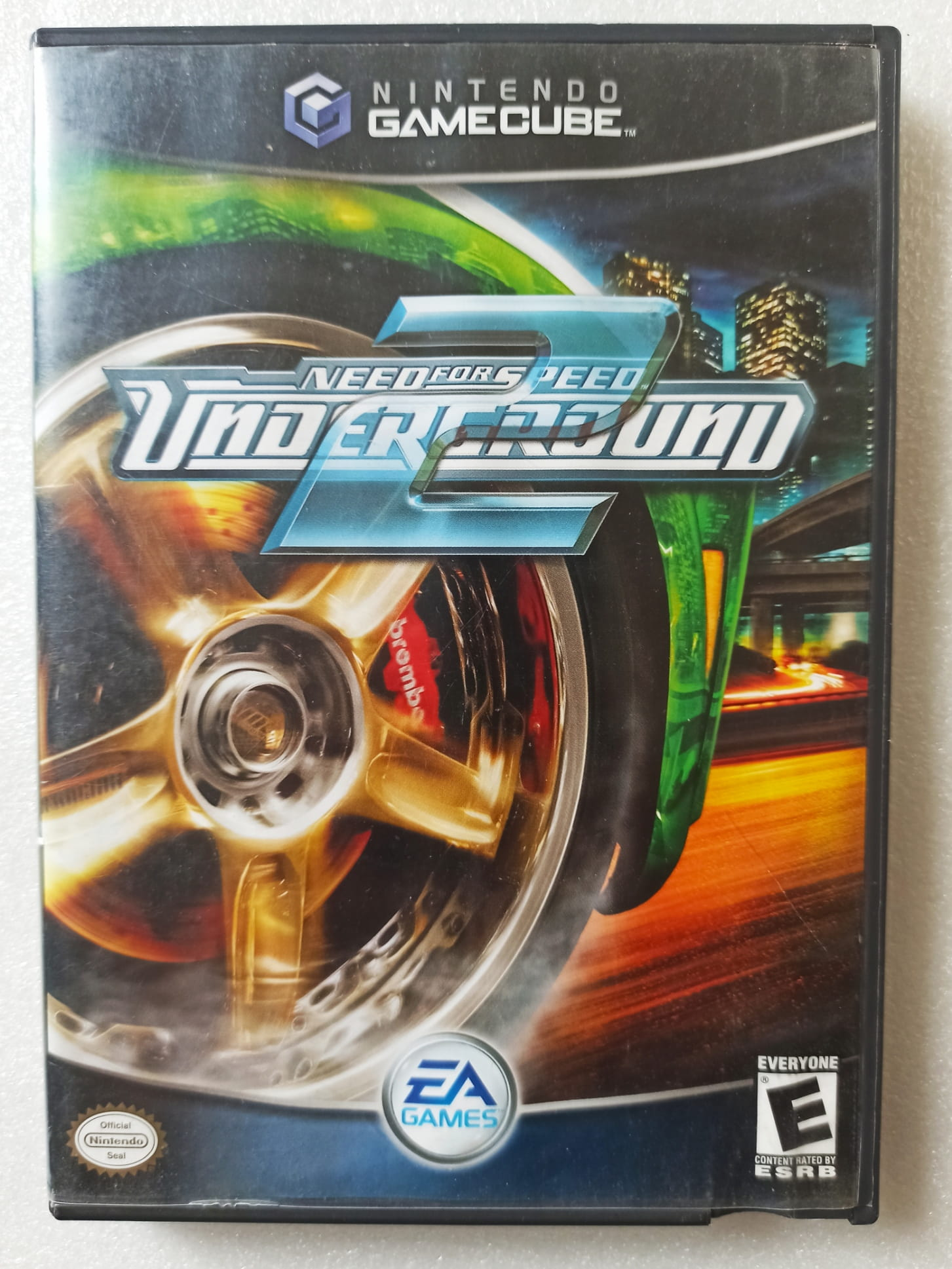 Need for Speed: Underground 2 - USADO - GameCube