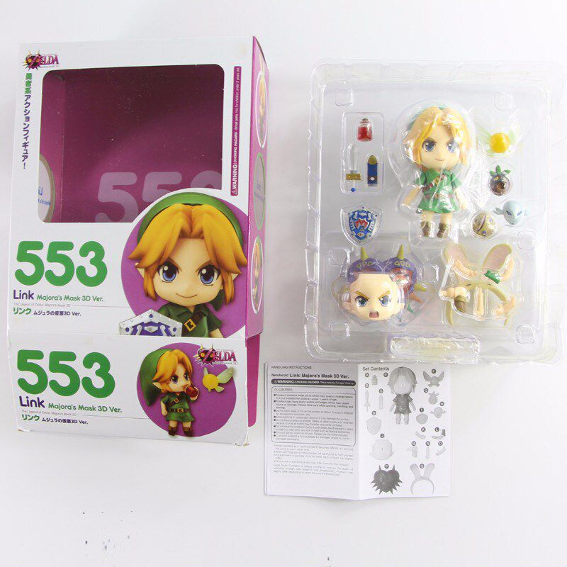 Nendoroid  #553 - The Legend of Zelda: Majora's Mask 3D - Link