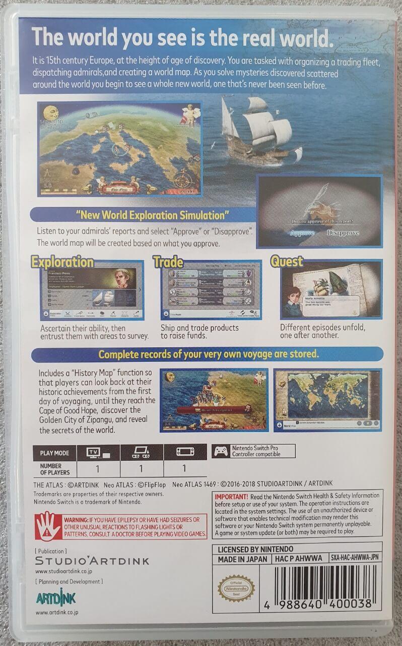 Neo ATLAS 1469 - Usado - Nintendo Switch