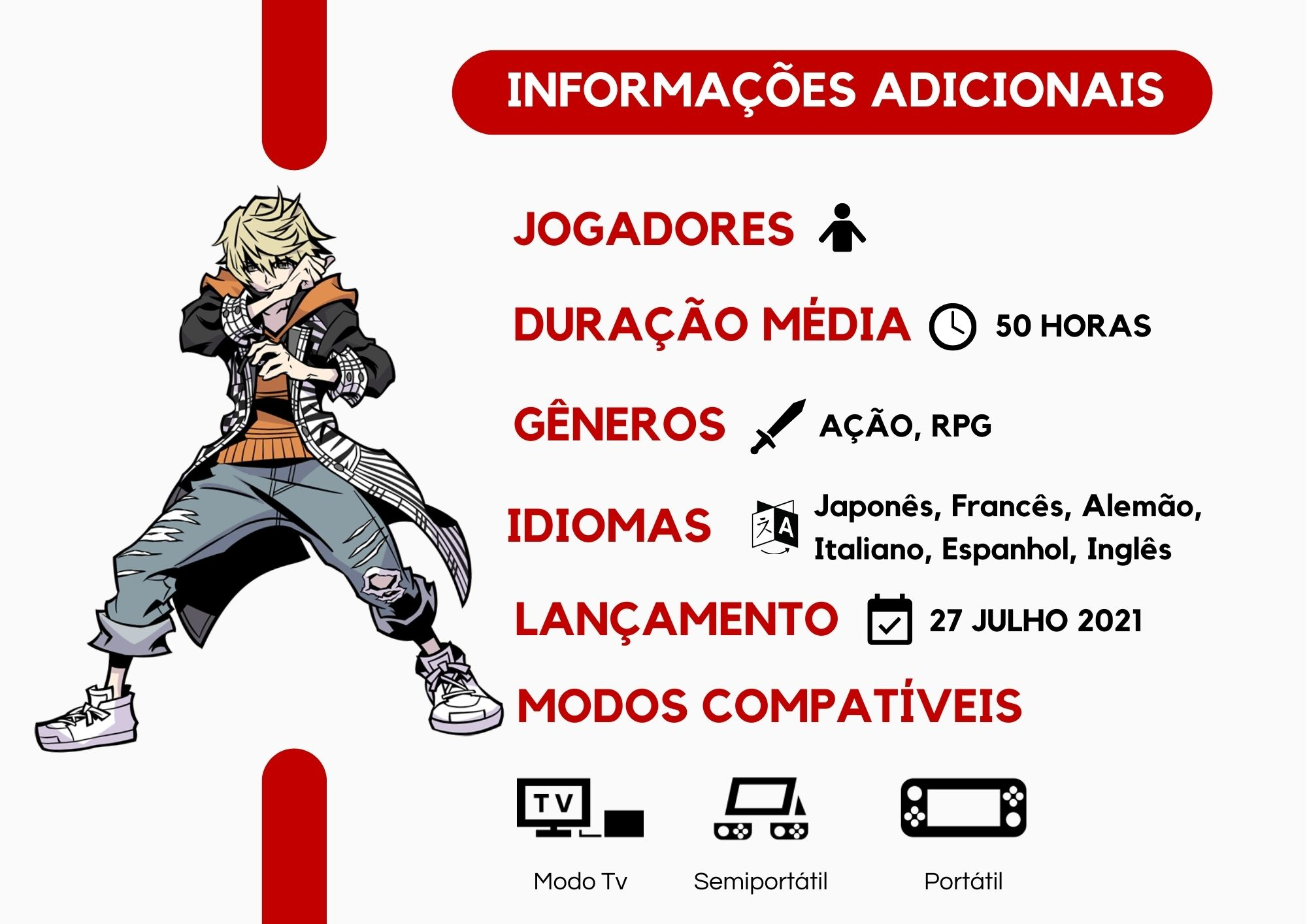 NEO: The World Ends with You - Nintendo Switch - Pré Venda