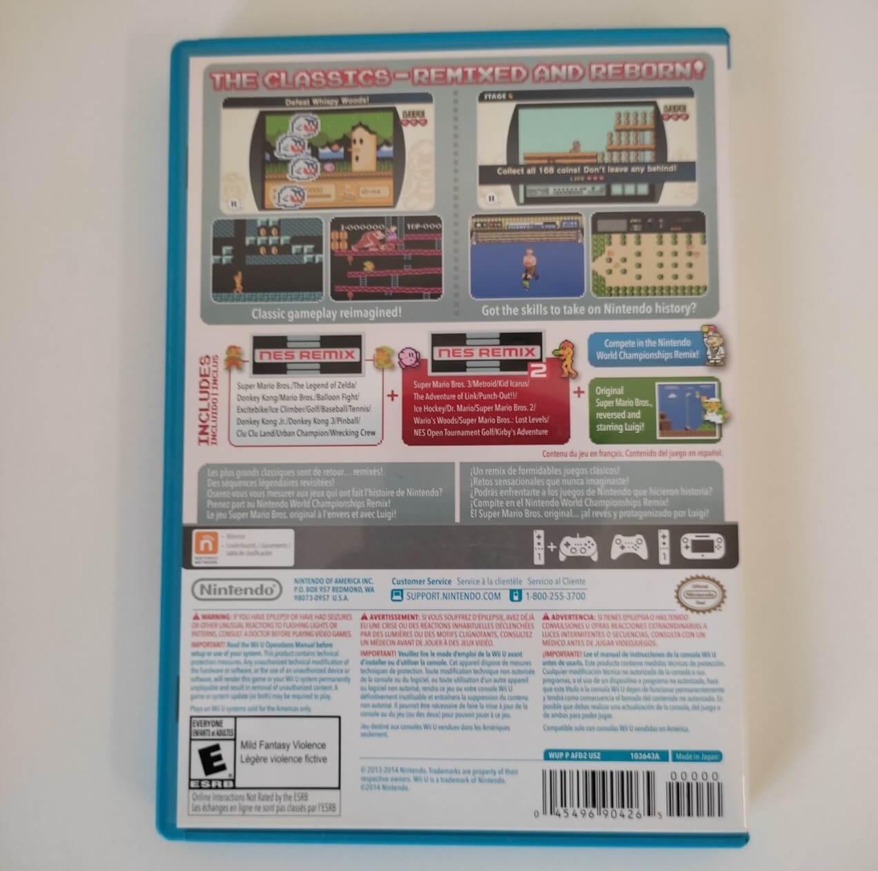 Nes Remix Pack - Nintendo Wii U - Usado