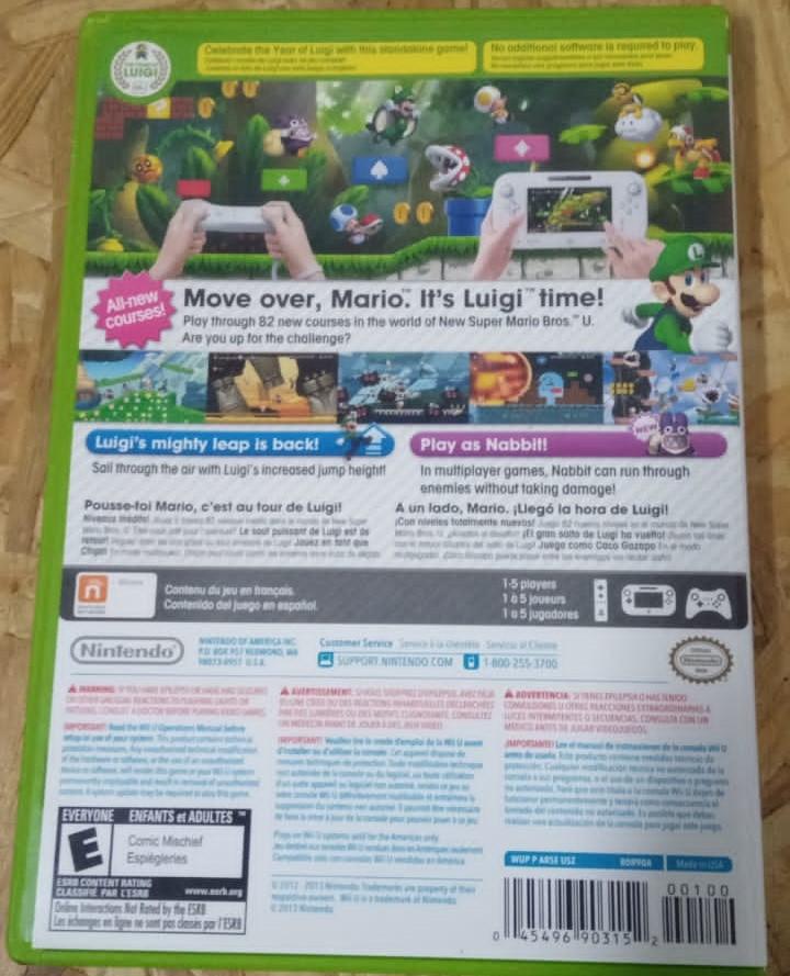 New Super Luigi U - USADO - Nintendo Wii U