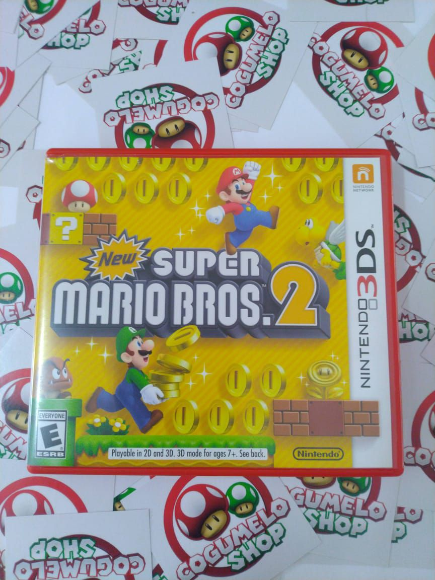 New Super Mario Bros. 2 - USADO - Nintendo 3DS