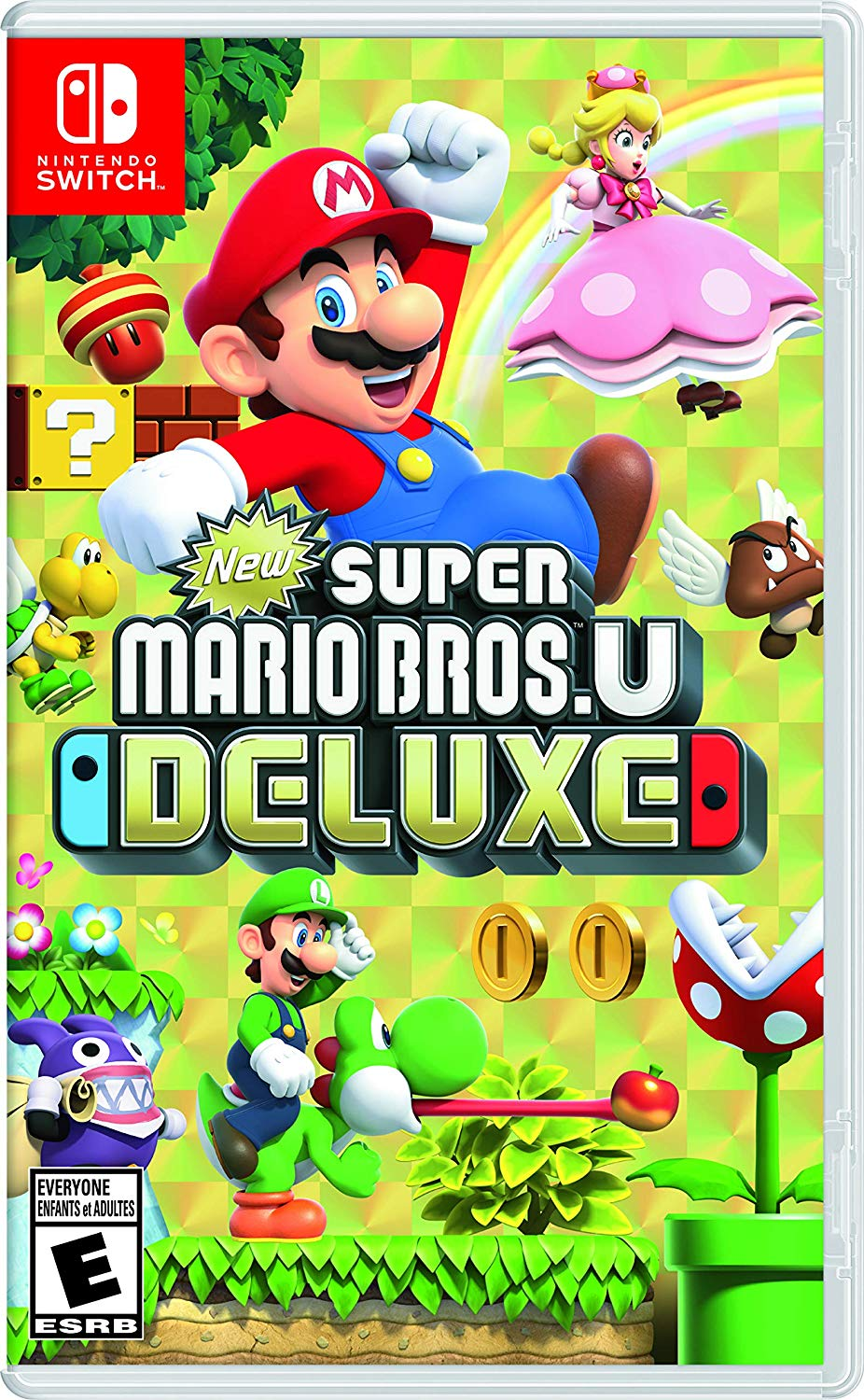 New Super Mario Bros U Deluxe - Nintendo Switch - ENVIO INTERNACIONAL