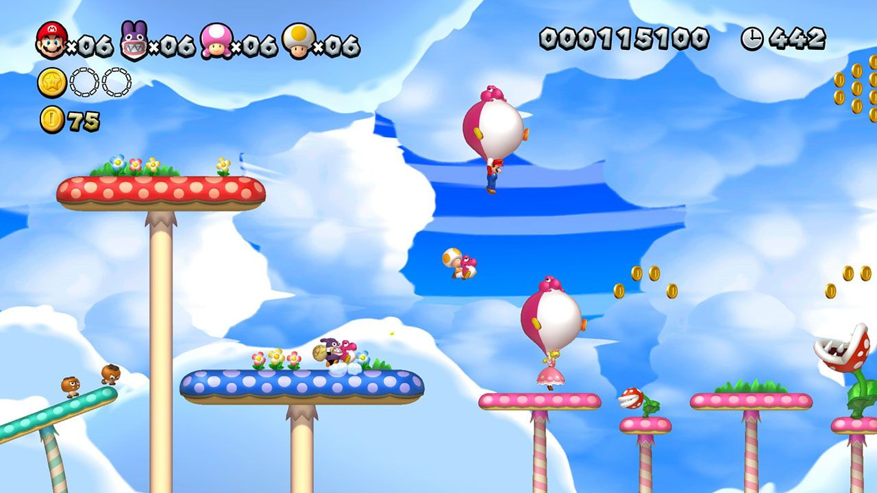 New Super Mario Bros U Deluxe - Nintendo Switch - Envio Internacional