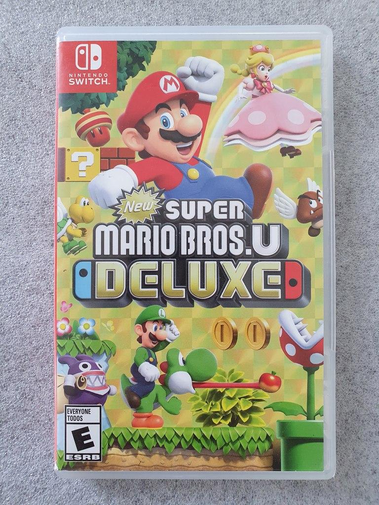 New Super Mario Bros. U Deluxe - Nintendo Switch - Usado