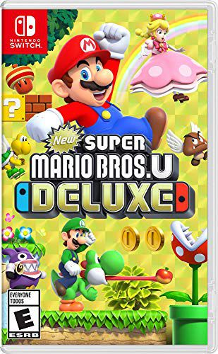 New Super Mario Bros U Deluxe - Nintendo Switch - USADO - Caixa Quebrada