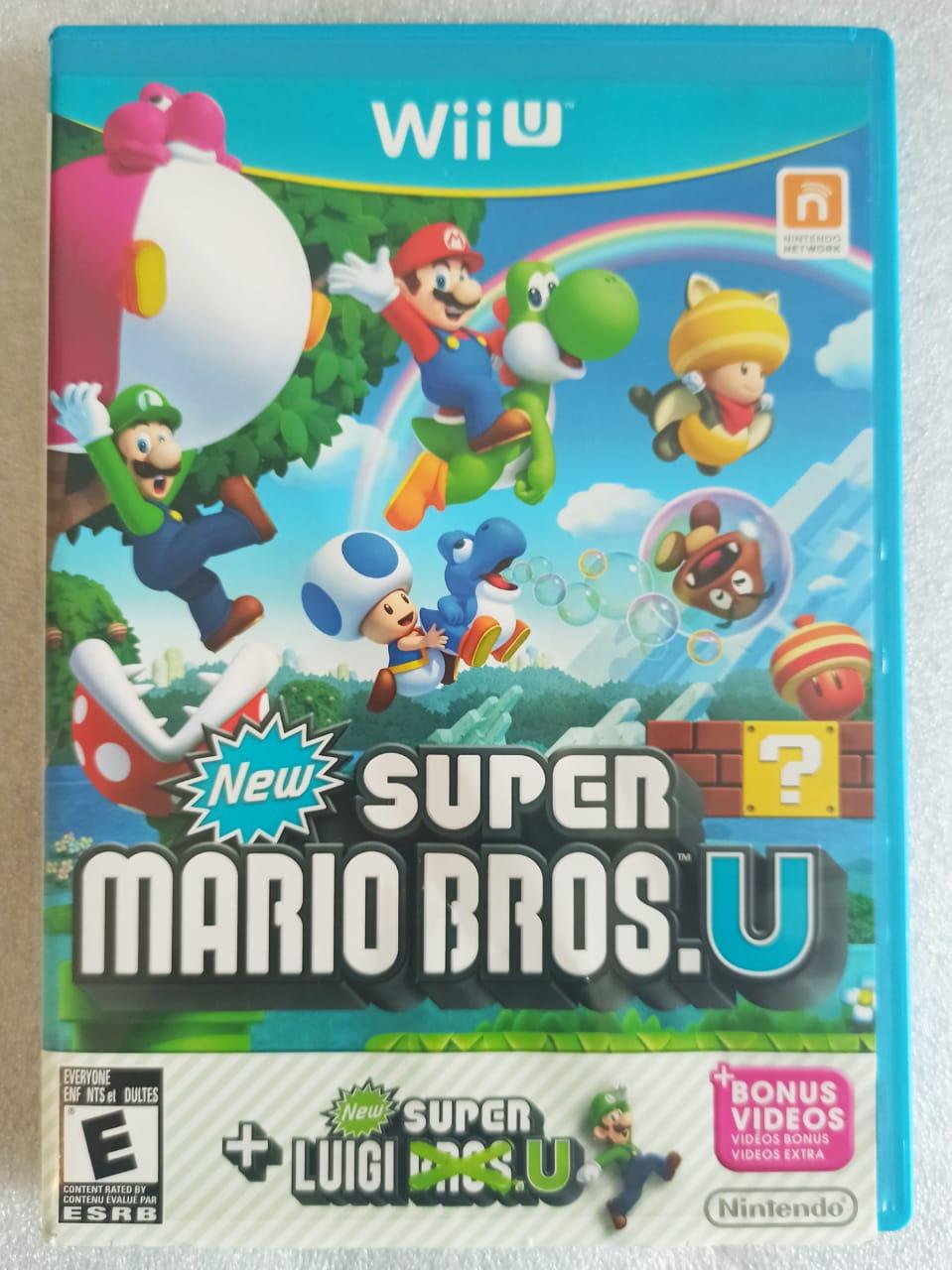 New Super Mario Bros. U + Luigi U - USADO - Nintendo Wii U