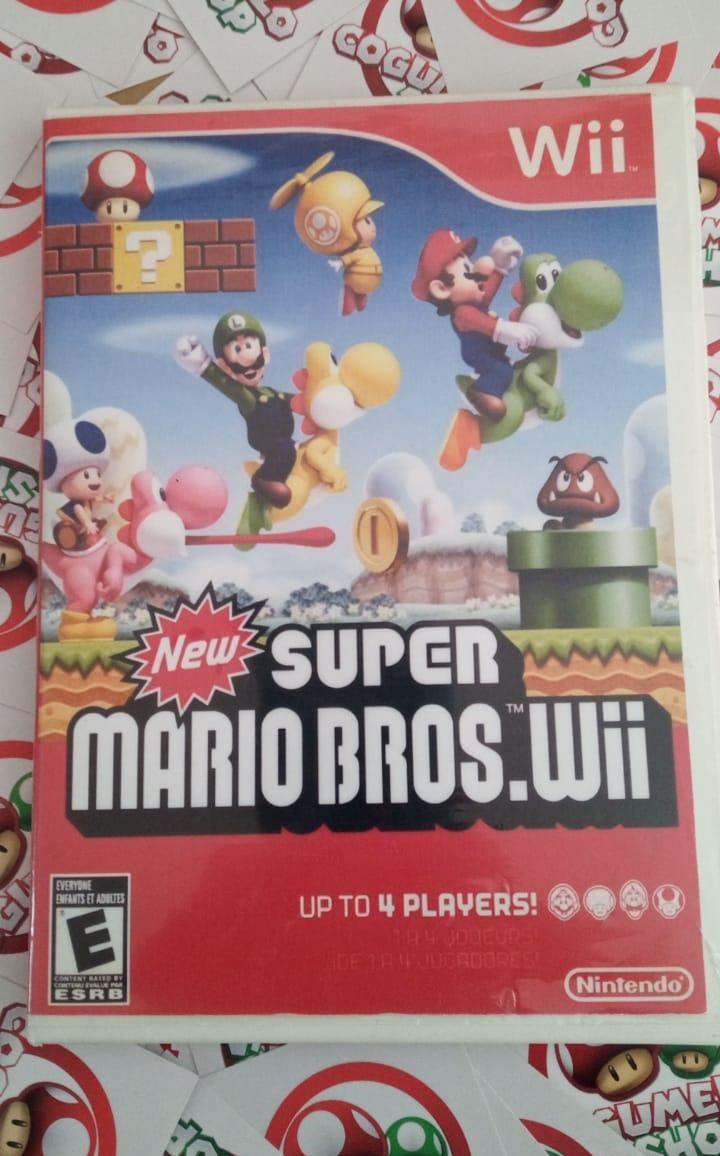 New Super Mario Bros. - USADO - Nintendo Wii