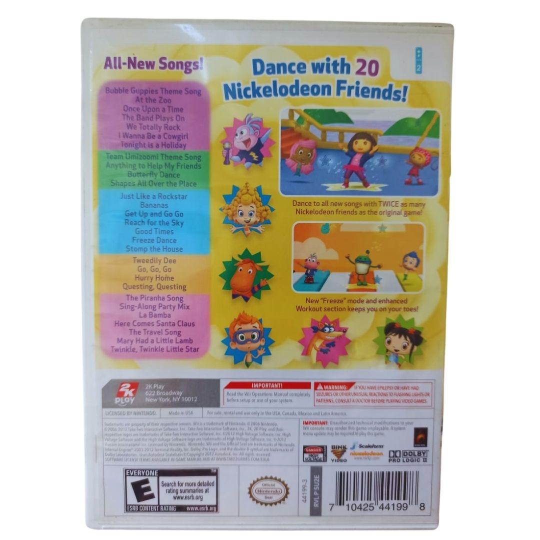 Nickelodeon: Dance 2 - Nintendo Wii - Usado