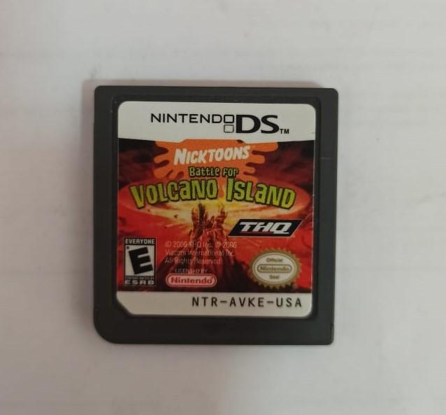 Nicktoons: Battle for Volcano Island - USADO - Nintendo DS