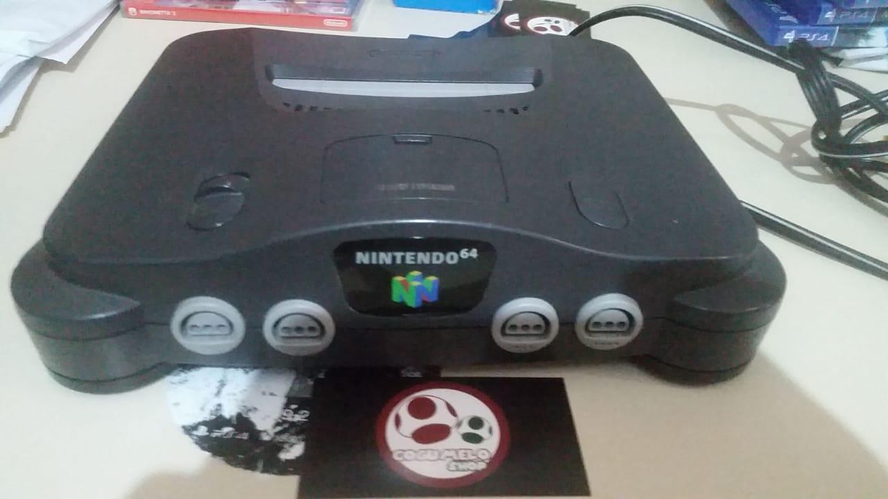 Nintendo 64 Completo + Zelda Ocarina - USADO