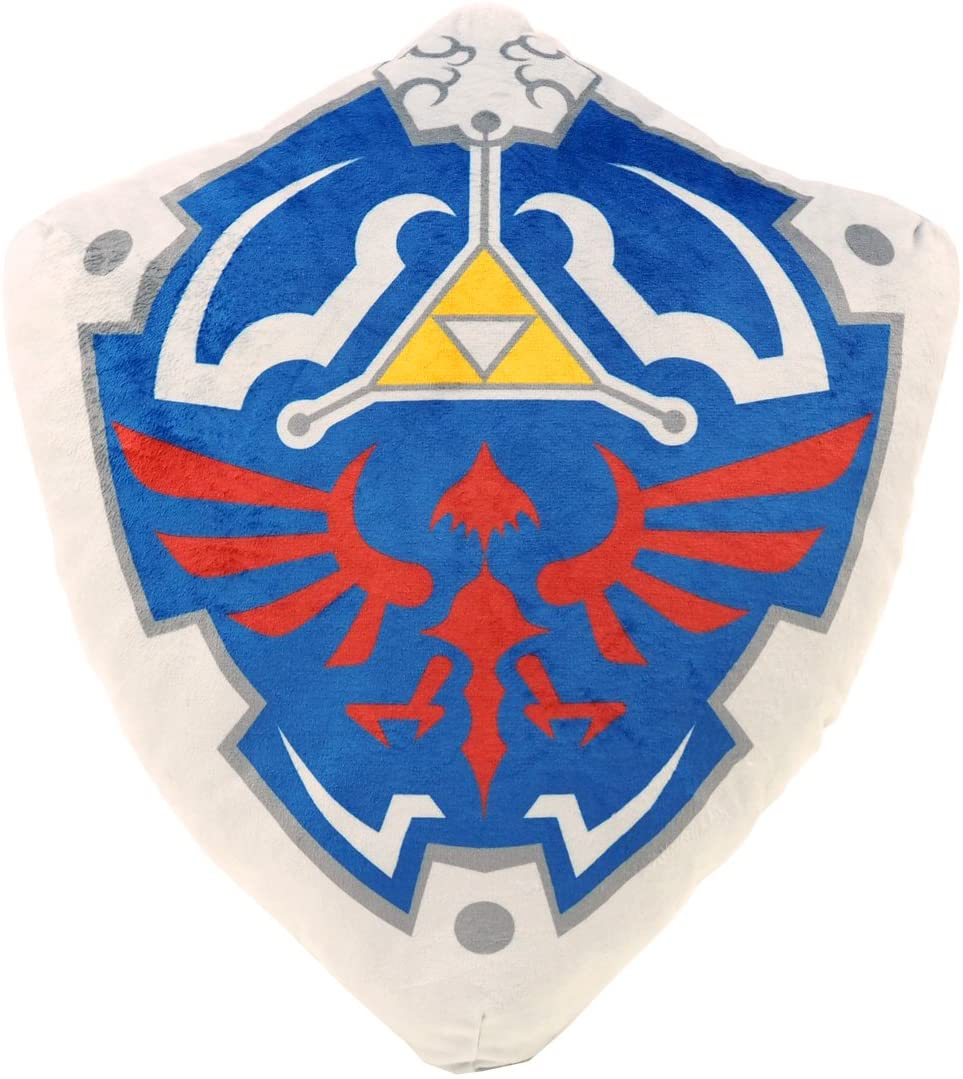 Nintendo Almofada Hylian Shield (Envio Internacional) - Nintendo Switch