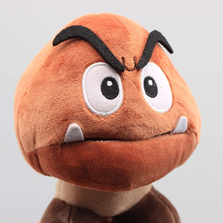 Nintendo Goomba de Pelúcia 6 Polegadas Super Mario (Envio Internacional) - Nintendo Switch
