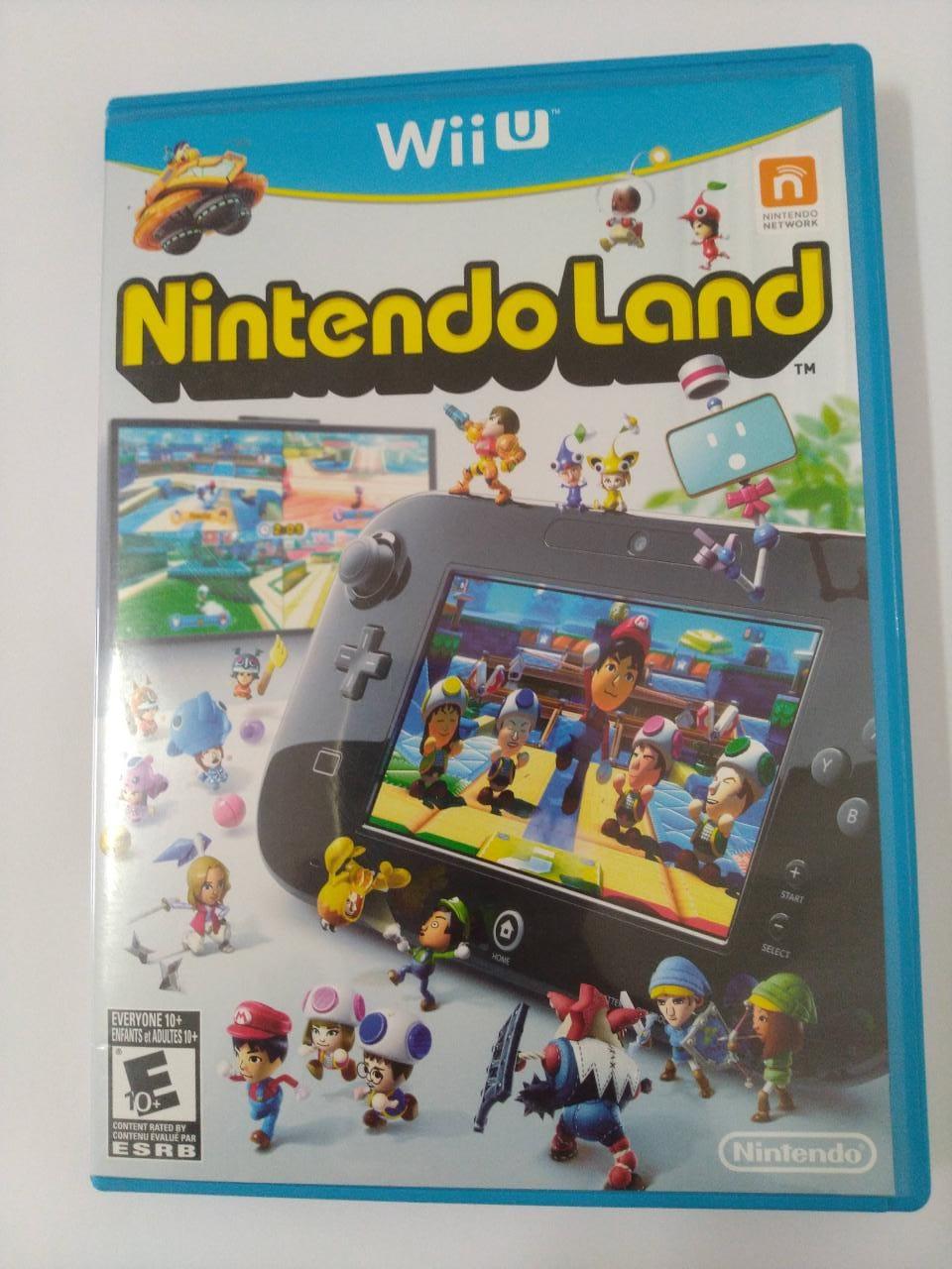 Nintendo Land - USADO - Nintendo Wii U