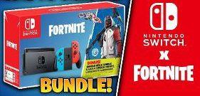 Console Nintendo Switch Americano Neon Com Game Fortnite