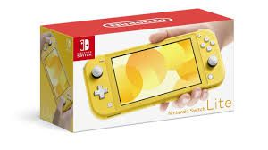 Console Nintendo Switch Lite Amarelo