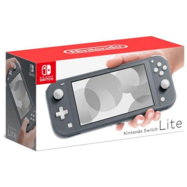 Console Nintendo Switch Lite Cinza - PAGAMOS SEU FRETE