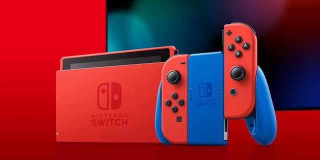 Nintendo Switch Mario Red & Blue Edition - Lista de Espera