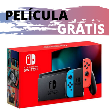 Nintendo Switch Neon C/ Película de Brinde - Nova Edição