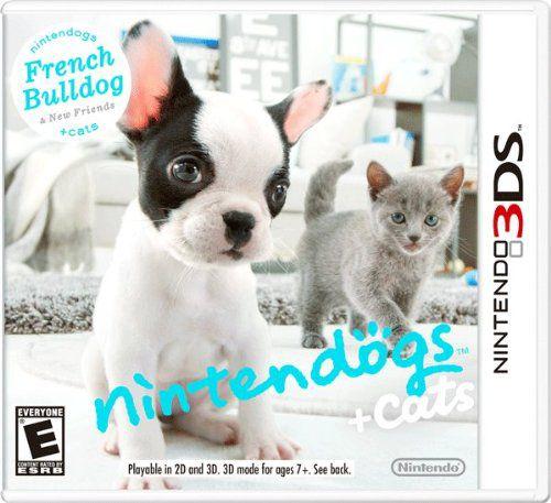 Nintendogs + Cats French Bulldog New Friends - 3DS Usado