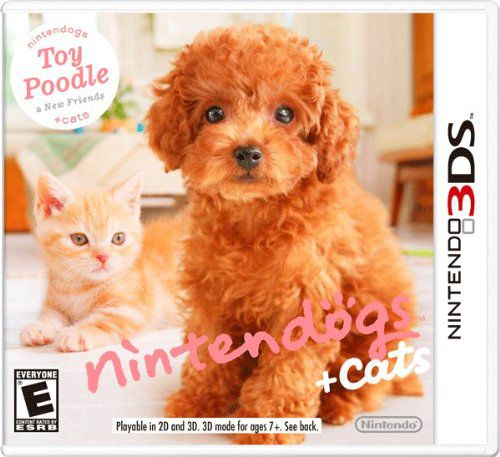 Nintendogs + Cats Toy Poodle 3DS USADO
