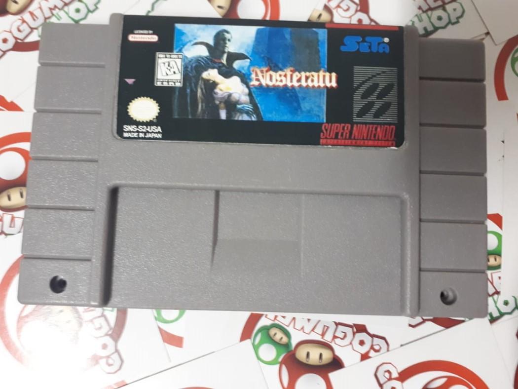 Nosferatu - USADO - Super Nintendo