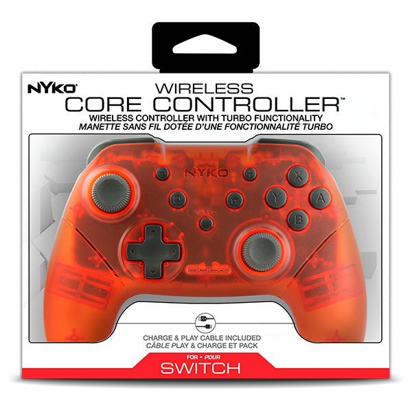 Nyko Wireless Core Controller Red