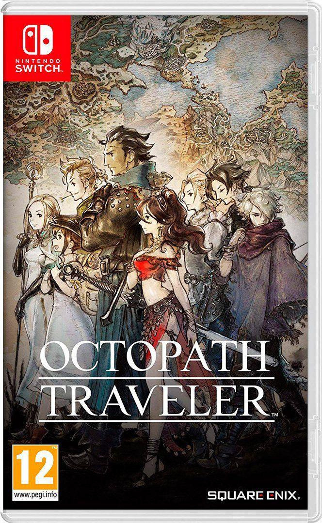 Octopath Traveler - Nintendo Switch - Envio Internacional