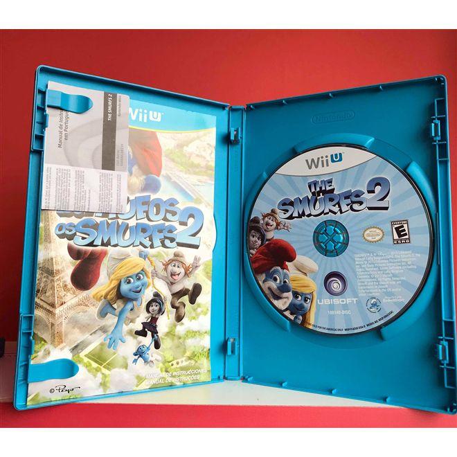 Os Smurfs 2 Wii U - Usado