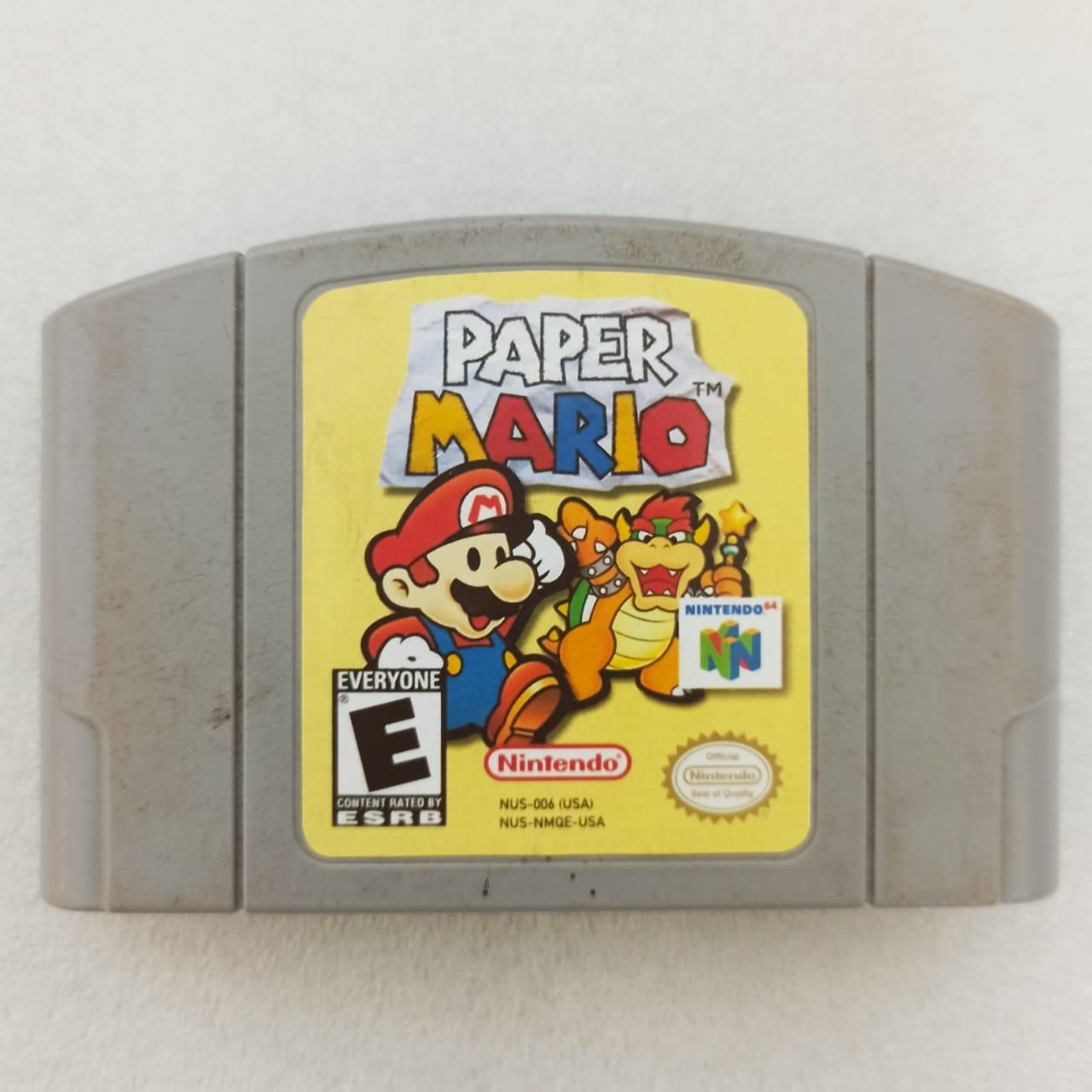 Paper Mario 64 - Usado - Nintendo 64
