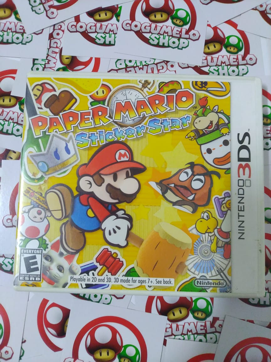 Paper Mario: Sticker Star - USADO - Nintendo 3DS