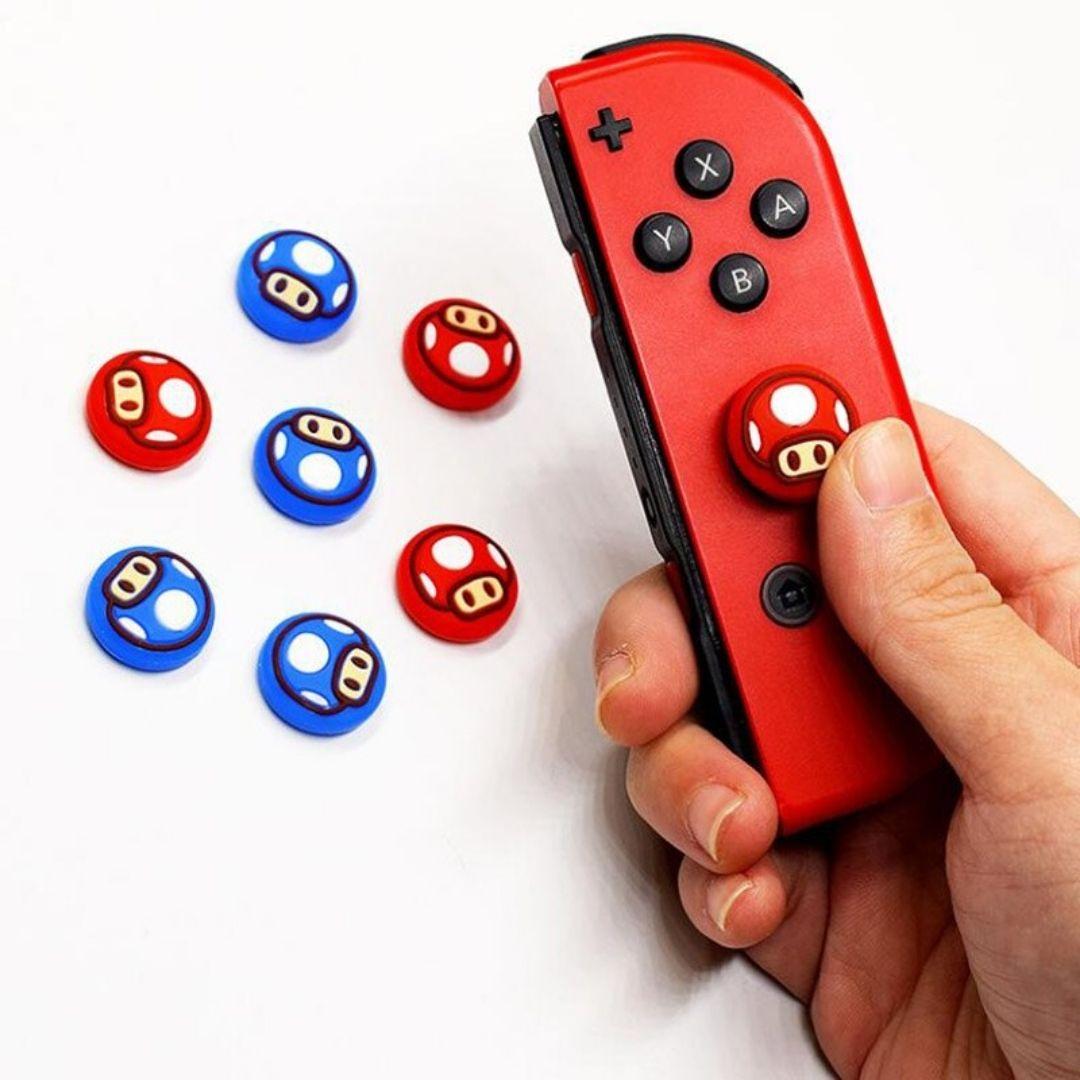 Par de Protetores Analógicos Joy-Con - Captain Toad - Nintendo Switch
