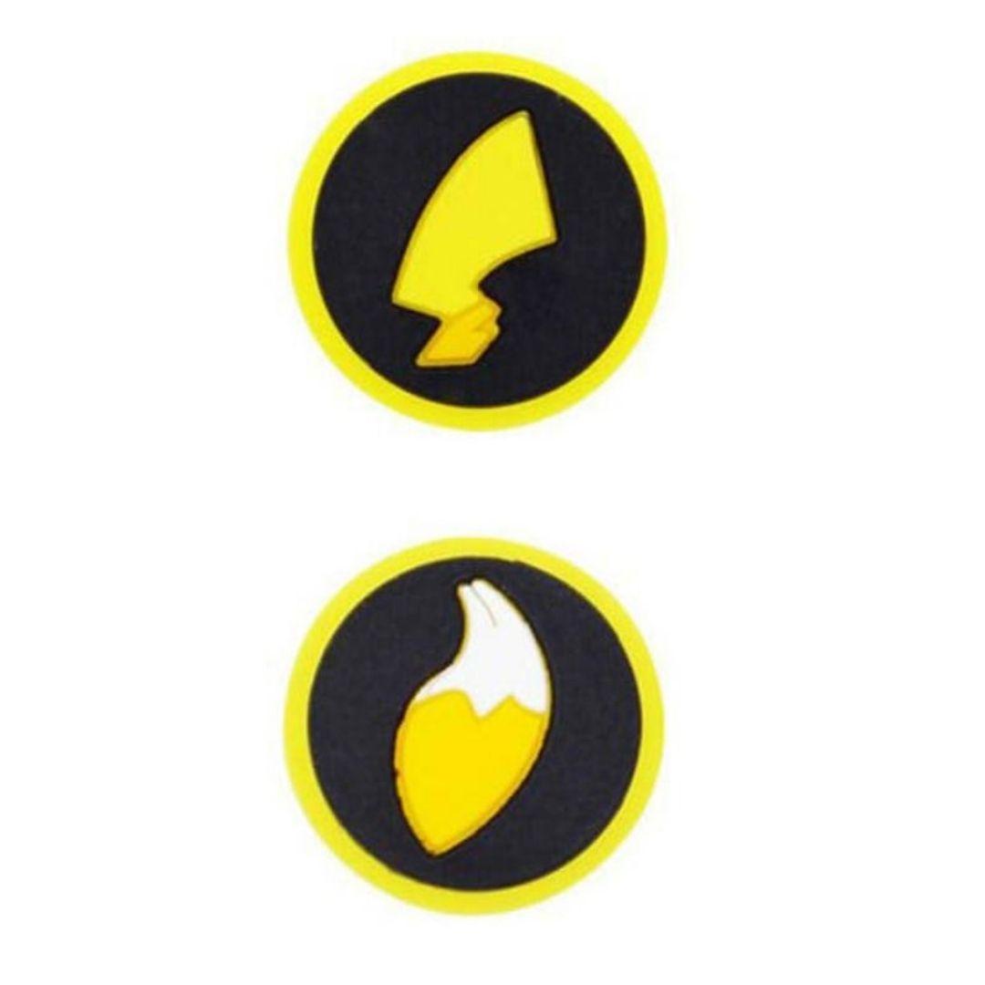 Par de Protetores Analógicos Joy-Con - Pokémon Eevee e Pikachu - Nintendo Switch