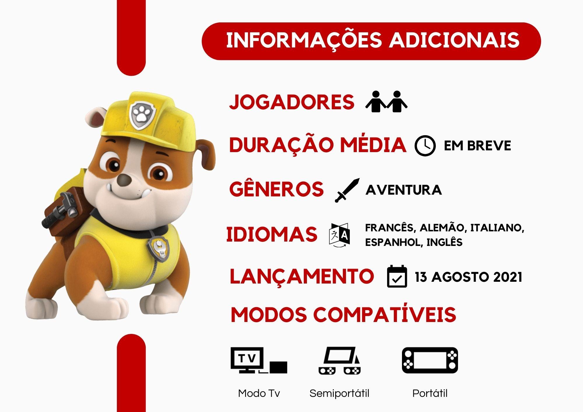 Paw Patrol: Adventure City Calls - Nintendo Switch