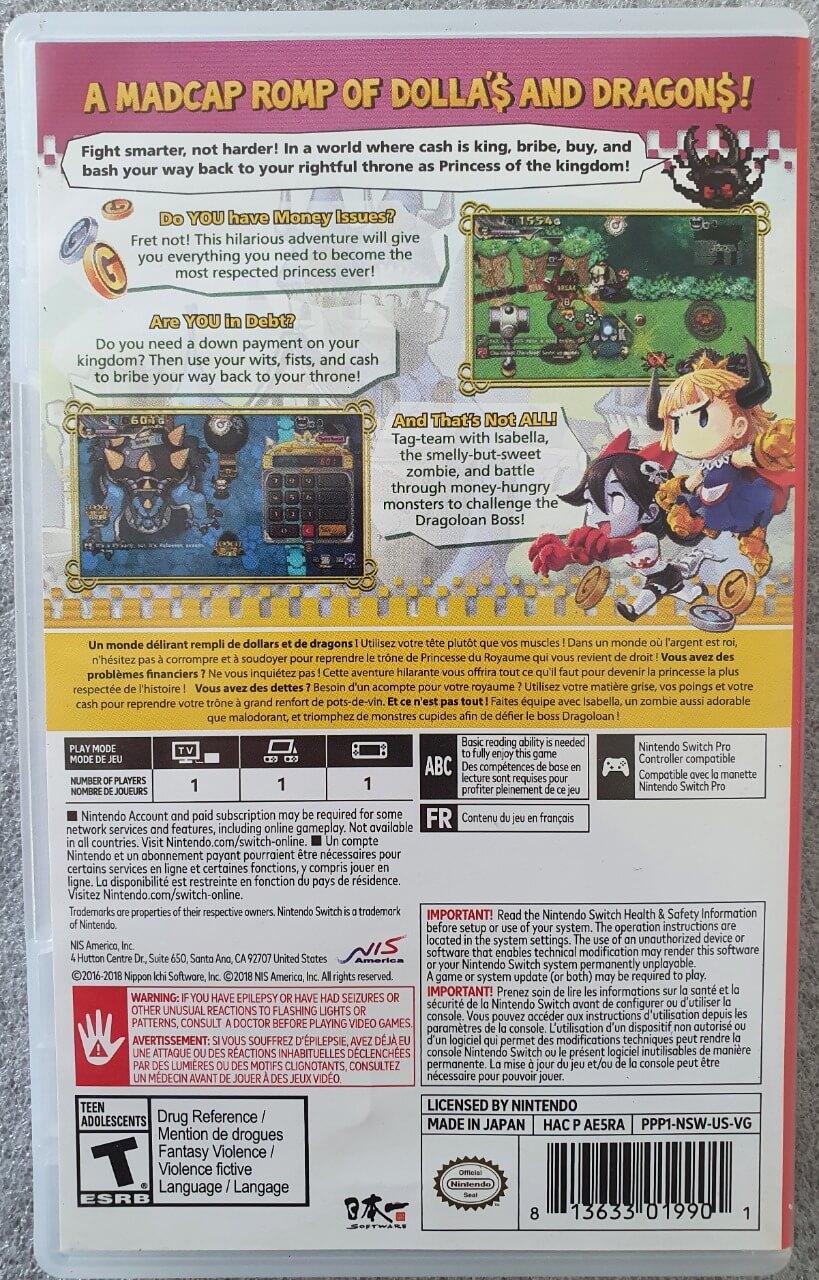 Penny-Punching Princess - Usado - Nintendo Switch