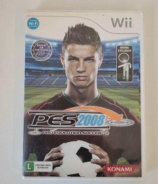 PES 2008 - Nintendo Wii - Usado