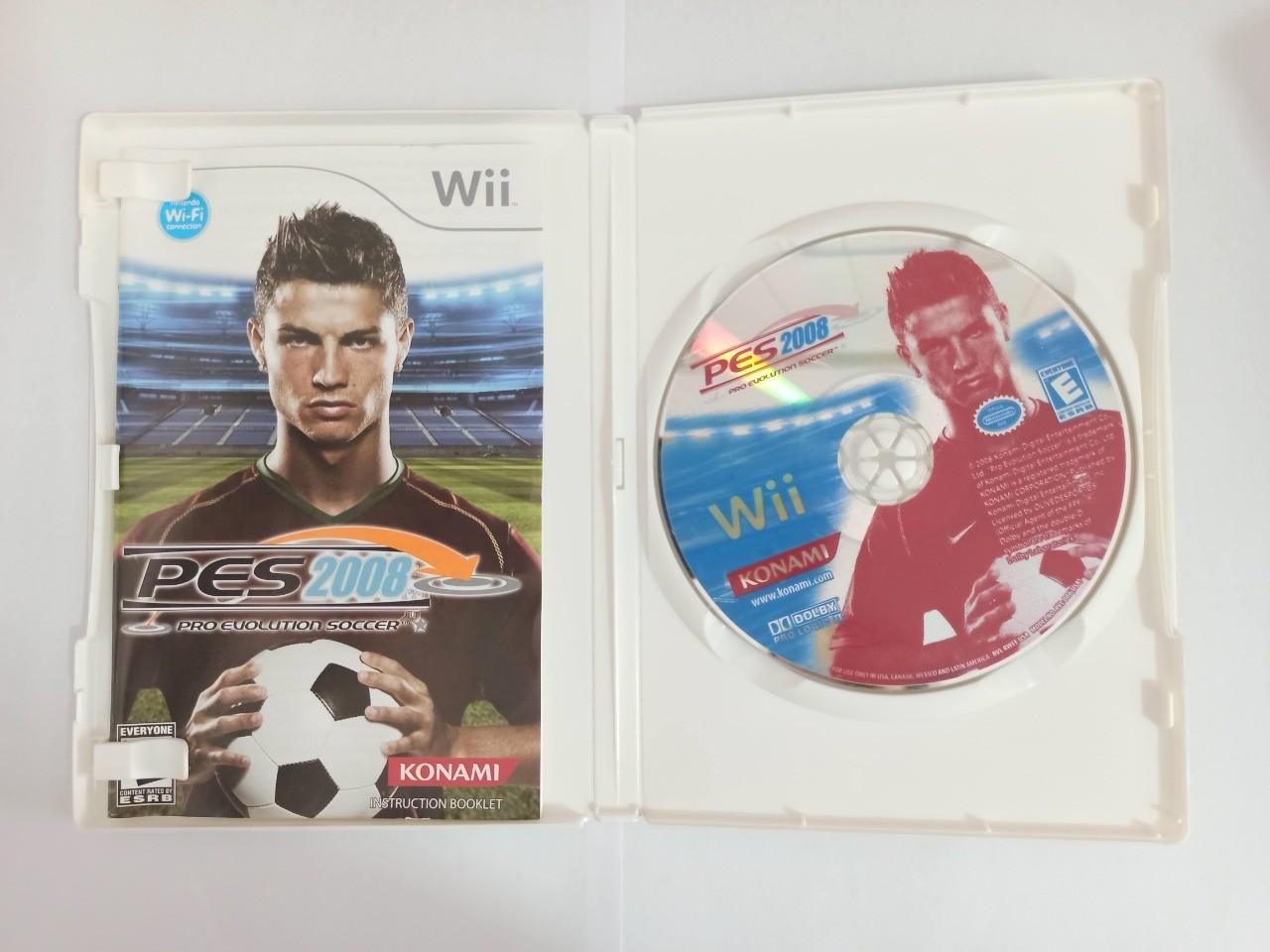 PES 2008 - Usado - Wii