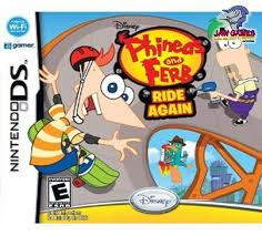Phineas And Ferb Ride Again (USADO) - Nintendo DS