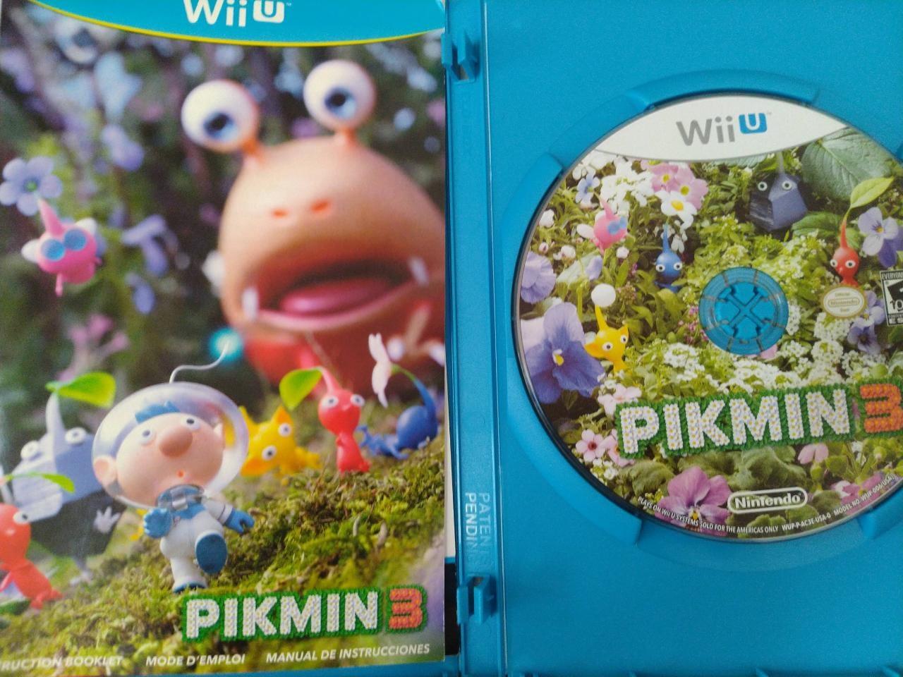 Pikmin 3 - USADO - Nintendo Wii U
