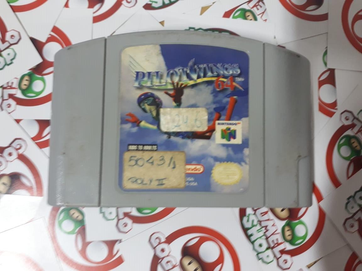 Pilotwings 64 - USADO - Nintendo 64
