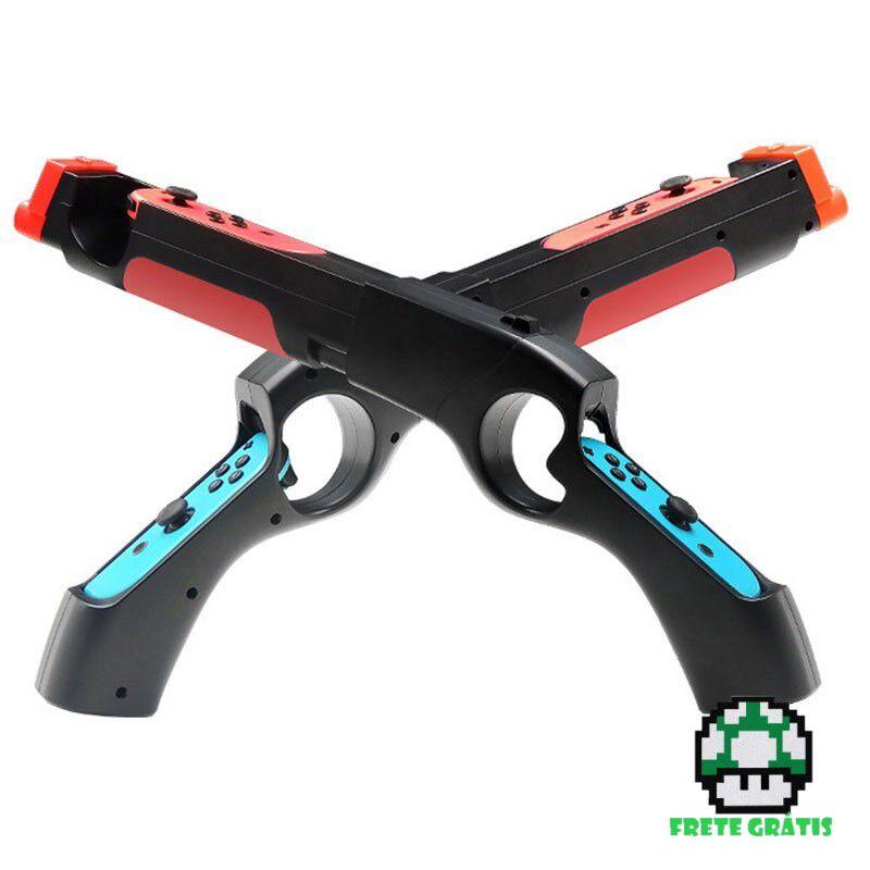 Pistola para Joy-Con - Nintendo Switch - Envio Internacional - Frete Grátis
